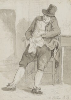 Dominic Serres, by Paul Sandby, 1792 - NPG 650a - © National Portrait Gallery, London