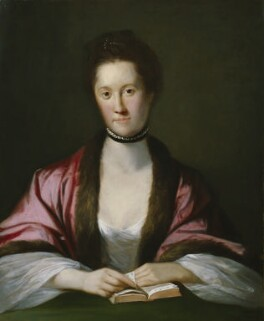 Anna Seward, by Tilly Kettle, 1762 - NPG  - © National Portrait Gallery, London
