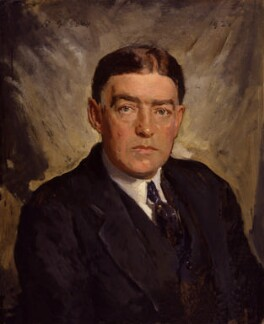 Sir Ernest Henry Shackleton, by Reginald Grenville Eves - NPG 2608