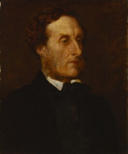 Anthony Ashley-Cooper, 7th Earl of Shaftesbury, by George Frederic Watts - NPG 1012