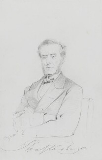 Anthony Ashley-Cooper, 7th Earl of Shaftesbury, by Frederick Sargent - NPG 1834(cc)
