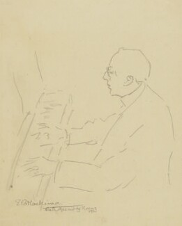 Cecil Sharp, by Esther Blaikie Mackinnon - NPG 2518