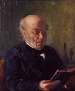 Samuel Sharpe, by Matilda Sharpe - NPG 1476