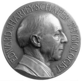 Sir Edward Sharpey-Schafer, by Charles d'Orville Pilkington Jackson - NPG 4581