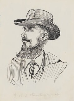 George Bernard Shaw, by Harry Furniss - NPG 3511