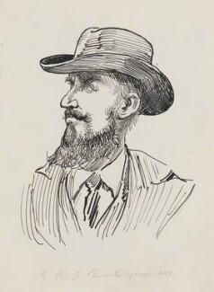 George Bernard Shaw, by Harry Furniss, 1880s-1900s - NPG 3511 - © National Portrait Gallery, London