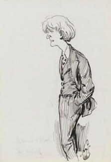 George Bernard Shaw, by Harry Furniss, 1880s-1900s - NPG 3512 - © National Portrait Gallery, London
