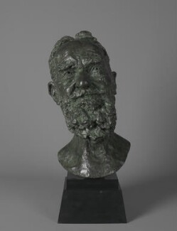 George Bernard Shaw, by Sir Jacob Epstein, 1934 - NPG 4047 - Photograph © National Portrait Gallery, London
