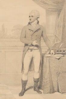 John Baker Holroyd, 1st Earl of Sheffield, by Henry Edridge, 1798 - NPG 2185 - © National Portrait Gallery, London