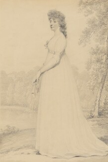 Anne Holroyd (née North), Countess of Sheffield, by Henry Edridge - NPG 2185a