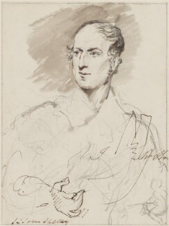 Sir John Shelley, 6th Bt, by Sir George Hayter - NPG 883(19)