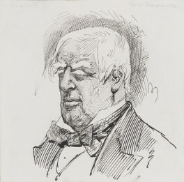 Robert Lowe, 1st Viscount Sherbrooke, by Harry Furniss - NPG 3605