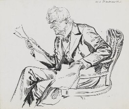 Robert Lowe, 1st Viscount Sherbrooke, by Harry Furniss - NPG 3606