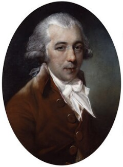 Richard Brinsley Sheridan, by John Russell - NPG 651