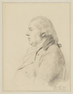 William Shield, by George Dance - NPG 1159