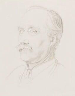 Frank Short, by Sir William Rothenstein, 1921 -NPG 4804 - © National Portrait Gallery, London