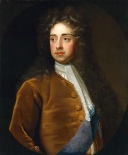 Charles Talbot, 1st Duke of Shrewsbury, after Sir Godfrey Kneller, Bt, based on a work of circa 1699-1700 - NPG 1424 - © National Portrait Gallery, London
