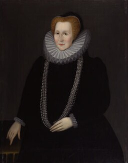 Elizabeth Talbot, Countess of Shrewsbury, by Unknown artist, probably 17th century, based on a work of circa 1590 - NPG 203 - © National Portrait Gallery, London