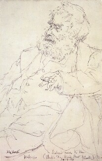 Walter Sickert, by Edmond Xavier Kapp - NPG 3547