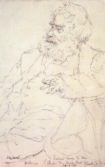 Walter Sickert, by Edmond Xavier Kapp - NPG 3547