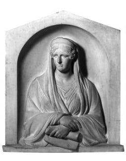 Sarah Siddons (née Kemble), by Thomas Campbell, 1843 - NPG 642 - © National Portrait Gallery, London