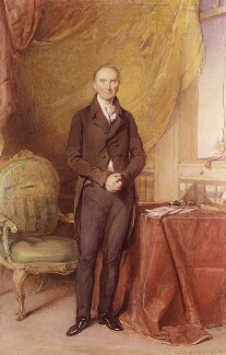 Henry Addington, 1st Viscount Sidmouth, by George Richmond - NPG 5