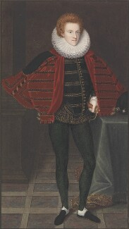 Unknown man, formerly known as Sir Philip Sidney, copy by George Perfect Harding, after  Unknown artist - NPG 2412