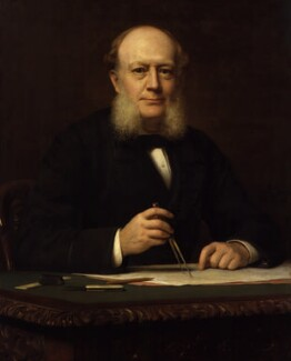 Sir (Charles) William Siemens (né Karl Wilhelm Siemens), by (Wilhelm Augustus) Rudolf Lehmann - NPG 2632