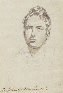 Sir John Gordon Sinclair, 8th Bt, by Sir George Hayter - NPG 883(20)