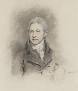 Robert Smirke, by John Jackson, after  Mary Smirke - NPG 2672