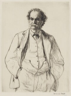 Arthur Lionel Smith, by Francis Dodd - NPG 3996