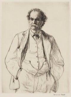 Arthur Lionel Smith, by Francis Dodd - NPG 3996