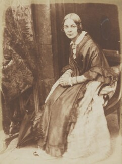 Matilda Smith (née Rigby), by David Octavius Hill, and  Robert Adamson - NPG P6(135)