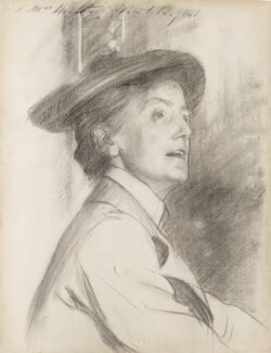 Dame Ethel Mary Smyth, by John Singer Sargent - NPG 3243