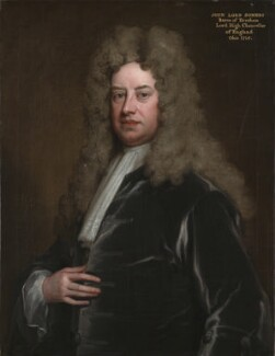John Somers, Baron Somers, by Sir Godfrey Kneller, Bt - NPG 490