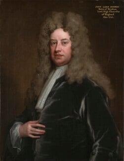 John Somers, Baron Somers, by Sir Godfrey Kneller, Bt - NPG 490