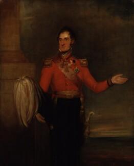Lord Robert Edward Somerset, by William Salter - NPG 3754