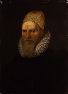 Sir Henry Spelman, after Cornelius Johnson (Cornelius Janssen van Ceulen) - NPG 962