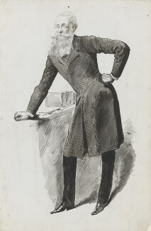 John Poyntz Spencer, 5th Earl Spencer, by Harry Furniss - NPG 3412