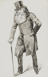 John Poyntz Spencer, 5th Earl Spencer, by Harry Furniss - NPG 3608