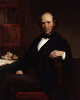 Herbert Spencer, by John Bagnold Burgess - NPG 1358