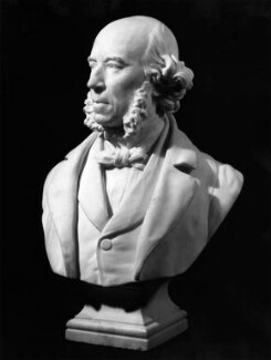 Herbert Spencer, by Sir Joseph Edgar Boehm, 1st Bt - NPG 1359