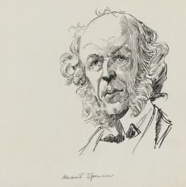 Herbert Spencer, by Harry Furniss - NPG 3609