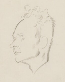 Stephen Spender, by Sir David Low, 1952 or before - NPG 4529(336) - © Solo Syndication Ltd