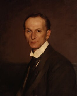 Marion Harry Spielmann, by John Henry Frederick Bacon, 1904 -NPG 4352 - © National Portrait Gallery, London