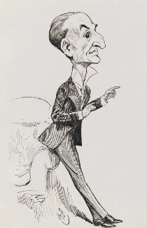 Marion Harry Spielmann, by Harry Furniss - NPG 3516