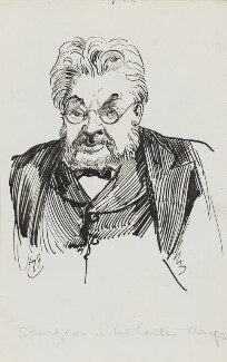 Charles Haddon Spurgeon, by Harry Furniss - NPG 3610