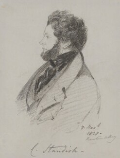 Charles Standish, by Alfred, Count D'Orsay - NPG 4026(52)