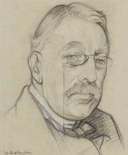 Sir Charles Villiers Stanford, by William Rothenstein - NPG 4067