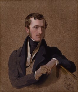 Philip Stanhope, 5th Earl Stanhope, by Sir George Hayter, 1834 - NPG 4336 - © National Portrait Gallery, London